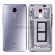 For Huawei Honor 5c/Honor 7 Lite Rear Housing Replacement - Silver - Grade S+