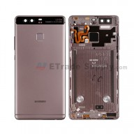 For Huawei P9 Rear Housing (With Fingerprint Sensor Flex) - Gray - Grade S+