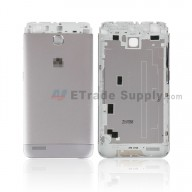 For Huawei Enjoy 5S Battery Door Replacement - Grey - With Huawei Logo - Grade S+