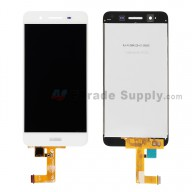 For Huawei Enjoy 5S LCD Screen and Digitizer Assembly Replacement - White - With Logo - Grade S+