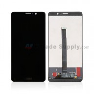 For Huawei Mate 9 LCD Screen and Digitizer Assembly Replacement - Black - With Logo - Grade S+