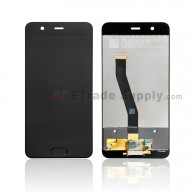 For Huawei P10 LCD Screen and Digitizer Assembly Replacement - Black - Without Logo - Grade S+