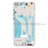 For Huawei P8lite 2017 Front Housing Replacement - White - Grade S+