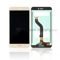 For Huawei P8lite 2017 LCD Screen and Digitizer Assembly Replacement - Gold - With Logo - Grade S+
