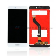 For Huawei P8lite 2017 LCD Screen and Digitizer Assembly Replacement - White - With Logo - Grade S+