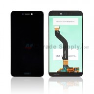 For Huawei P8lite 2017 LCD Screen and Digitizer Assembly Replacement - Black - With Logo - Grade S+