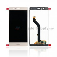 For Huawei P9 lite LCD Screen and Digitizer Assembly Replacement - Gold - With Logo - Grade S+