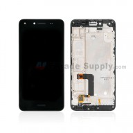 For Huawei Y5 II/ Honor Play 5 LCD Screen and Digitizer Assembly with Front Housing Replacement - Black - With Logo - Grade S+