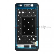 For Huawei Y6 Front Housing Replacement - Black - Grade S+