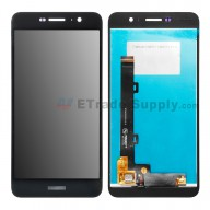For Huawei Y6 Pro/Enjoy 5 LCD Screen and Digitizer Assembly Replacement - Black - With Logo - Grade S+