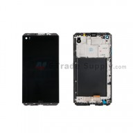 For LG V20 LCD Screen and Digitizer Assembly with Front Housing Replacement (Without Small Parts) - Black - With Logo - Grade S+