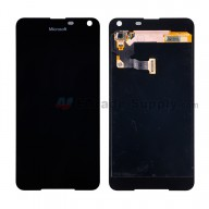 For Microsoft Lumia 650 LCD Screen and Digitizer Assembly Replacement - Black - With Logo - Grade S+