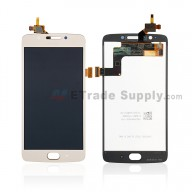 For Motorola Moto G5 LCD Screen and Digitizer Assembly Replacement - Gold - With Logo - Grade S+