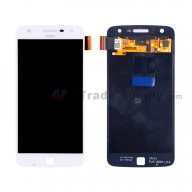 For Motorola Moto Z Play XT1635 LCD Screen and Digitizer Assembly Replacement - White - With Logo - Grade S+