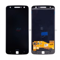 For Motorola Moto Z XT1650 LCD Screen and Digitizer Assembly Replacement - Black - With Logo - Grade S+
