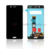 For Nokia 5 LCD Screen and Digitizer Assembly Replacement - Black - With Logo - Grade S+