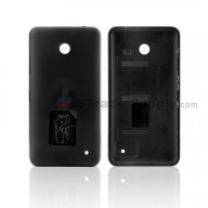 For Nokia Lumia 635 Battery Door Replacement - Black - With NK Logo- Grade S+