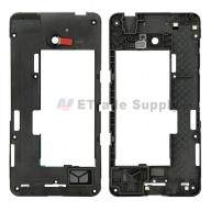 For Nokia Lumia 635 Middle Plate Replacement - Black - Grade S+
