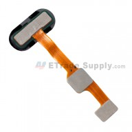 For OnePlus Five Home Button Flex Cable Ribbon Replacement - Black - Grade S+