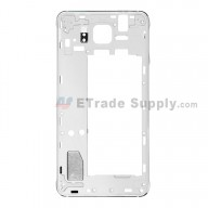 For Samsung Galaxy Alpha SM-G850A Rear Housing Replacement - Black - Grade S+