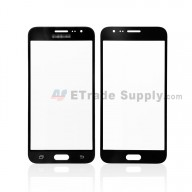 For Samsung Galaxy J3 (2016) SM-J320F Glass Lens Replacement - Black - With Logo - Grade R