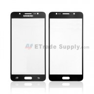 For Samsung Galaxy J5 2016 SM-J510 Glass Lens Replacement - Black - With Logo - Grade R