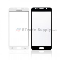 For Samsung Galaxy J5 2016 SM-J510 Glass Lens Replacement - White - With Logo - Grade R