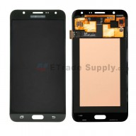 For Samsung Galaxy J7 SM-J700F LCD Screen and Digitizer Assembly Replacement - Black - With Logo - Grade S