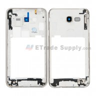 For Samsung Galaxy J7 SM-J700F Rear Housing Replacement - White - Grade S+