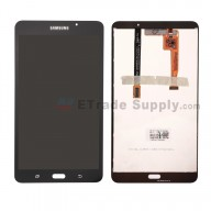 For Samsung Galaxy Tab A 7.0 (2016) T280 LCD Screen and Digitizer Assembly Replacement - Black - With Logo - Grade S+