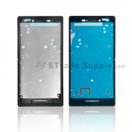For Sony Xperia M2 Front Housing Replacement - Black - Grade S+