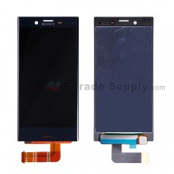 For Sony Xperia X Compact LCD Screen and Digitizer Assembly Replacement - Black - With Logo - Grade S+
