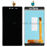 For Wiko Fever 4G LCD Screen and Digitizer Assembly Replacement - Black - Without Any Logo - Grade S+