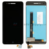 For ZTE Blade A610 LCD Screen and Digitizer Assembly Replacement - Black - Without Logo - Grade S+