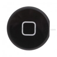 For Apple iPad 2 Home Button Replacement - Black - Grade S+