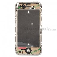 For Apple iPhone 4S Middle Plate Assembly Replacement - Black - Grade S+