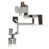 For Apple iPhone 4 Audio Flex Cable Ribbon Replacement (AT&T) - White - Grade S+