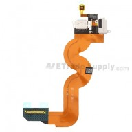 For Apple iPod Touch 5th Charging Port Flex Cable Ribbon Replacement - White - Grade S+