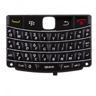 For BlackBerry Bold 9700 QWERTY Keypad Replacement - Black - Grade S+