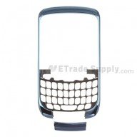 For BlackBerry Curve 3G 9300 Front Housing and Bottom Cover Replacement ,Dark Blue - Grade S+