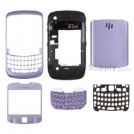 For BlackBerry Curve 8520 Housing Replacement ,Light Purple - Grade S+
