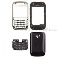 For BlackBerry Curve 9320 Complete Housing Replacement - Gray - Grade S+