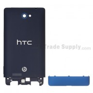 For HTC 8S Rear Housing and Bottom Cover Replacement - Blue - Grade S+