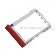 For HTC 8X SIM Card Tray  Replacement ,Red - Grade S+