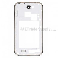 For Samsung Galaxy Note II N7100 Rear Housing Replacement - White - Grade S+