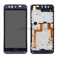 For HTC Desire Eye LCD Screen and Digitizer Assembly with Front Housing Replacement (without Top and Bottom Cover) - Blue - Grade A