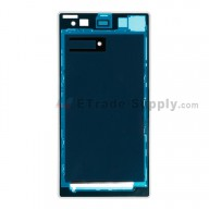 For Sony Xperia Z1 L39h Front Housing Replacement - White - Grade S+