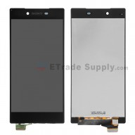 For Sony Xperia Z5 Premium LCD Screen and Digitizer Assembly Replacement - Black - Grade S+