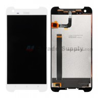 For HTC One X9 LCD Screen and Digitizer Assembly Replacement - White - With Logo - Grade S+