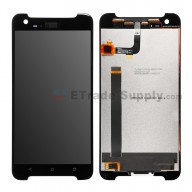 For HTC One X9 LCD Screen and Digitizer Assembly Replacement - Black - With Logo - Grade S+